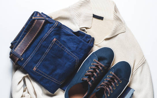 Daj drugie życie swoim jeansom i zleć zrobienie z nich... butów!