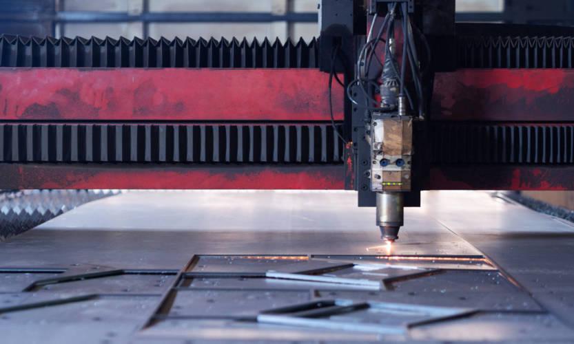 Zastosowanie lasera w cięciu stali