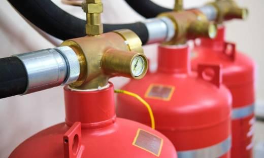 Charakterystyka Stałych Urządzeń Gaśniczych wykorzystujących gazy chemiczne