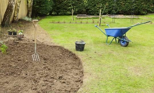 Przygotowanie terenu po budowie pod założenie ogrodu