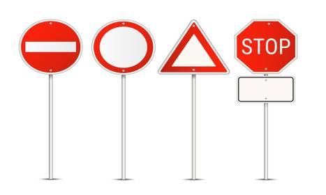 Rozmiar znaku drogowego – od czego zależy?
