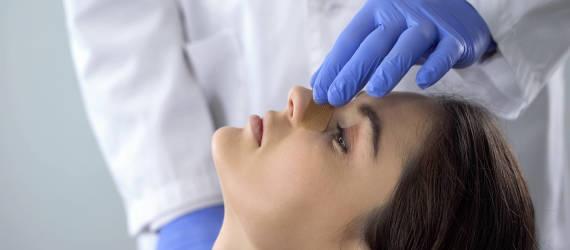 Skrzywienie przegrody nosowej
