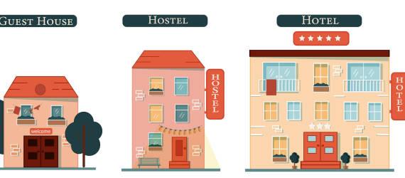 Jaka jest różnica między hotelem a hostelem?