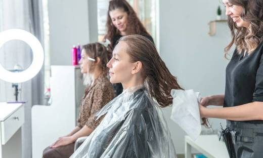 Ręczniki stosowane we fryzjerstwie