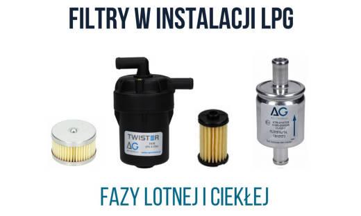Rodzaje filtrów do instalacji LPG