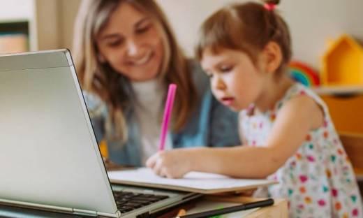 Domowe zajęcia edukacyjne dla przedszkolaków. Jak wygląda zdalne nauczanie?