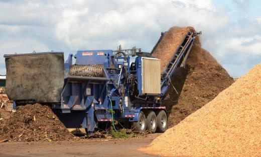 Technologia rozdrabniania biomasy