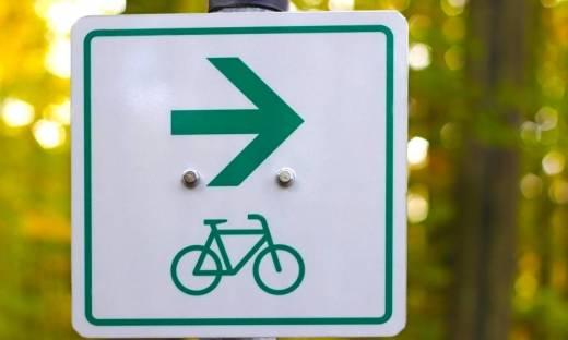 Elementy oznakowania szlaków rowerowych