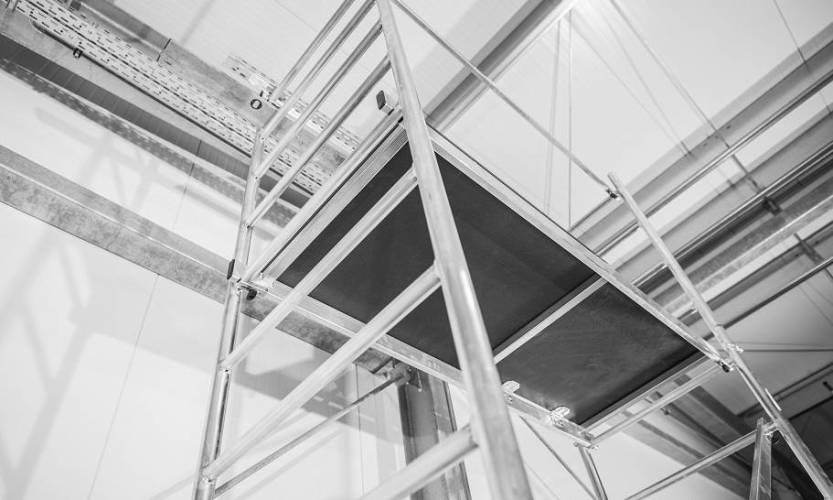 Główne zalety rusztowań aluminiowych