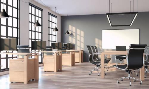 Rodzaje mebli biurowych