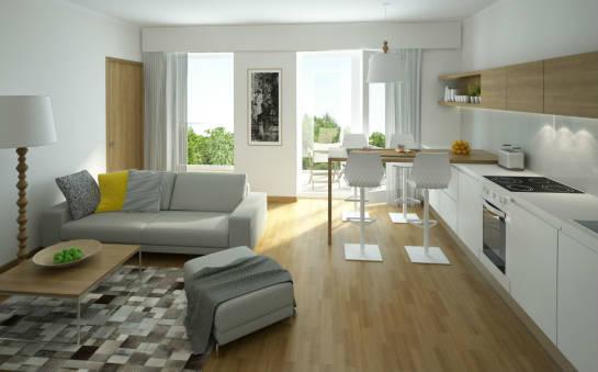 Zalety mieszkań z aneksem kuchennym