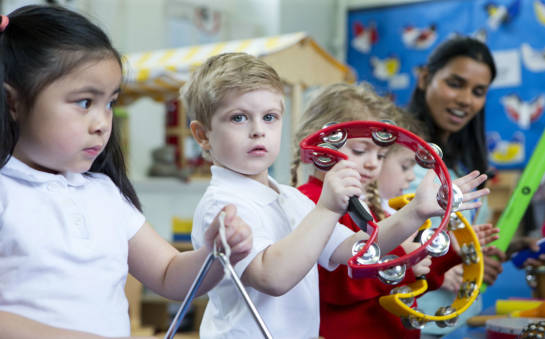 Zajęcia dodatkowe w przedszkolach