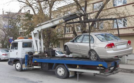 Przyczepy służące do przewozu aut
