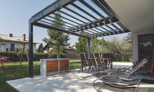 Pergola jako out-door