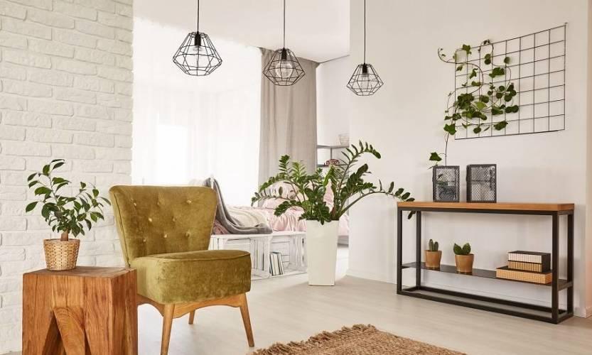 Lampy druciane, czyli wnętrzarski hit w loftowym stylu