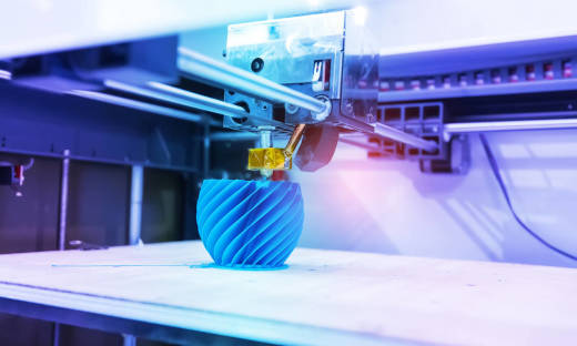 Przewaga druku 3D nad technologią skrawania