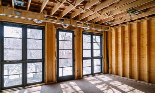Metody wykończenia domów drewnianych