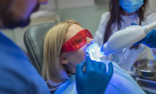 Systemy laserowego wybielania zębów
