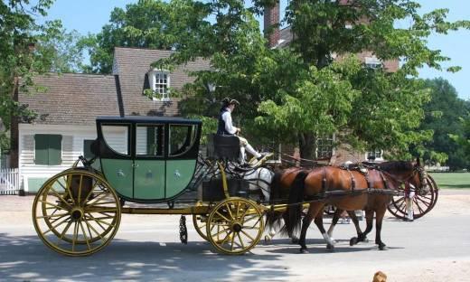 Zastosowanie wozów konnych w rekonstrukcjach historycznych